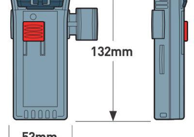 M100-M100X afmetingen